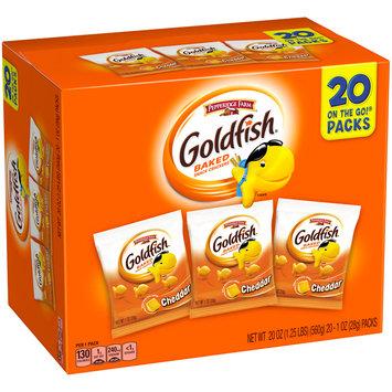 Pepperidge Farm® Goldfish® Cheddar Baked Snack Crackers 20-1 oz. Packs