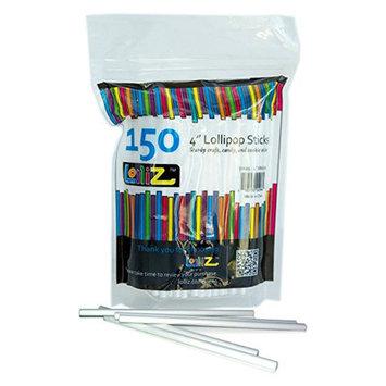 Lolliz Lollipop sticks 150 count 4 inch [Kitchen]