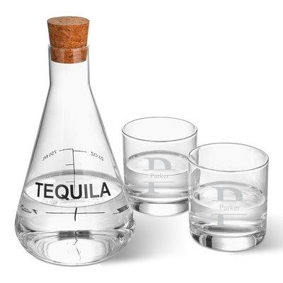 Latitude Run Weisser Personalized Tequila 3 Piece Beverage Serving Set