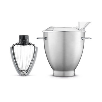 Breville the Scraper Whisk, One Size, Silver