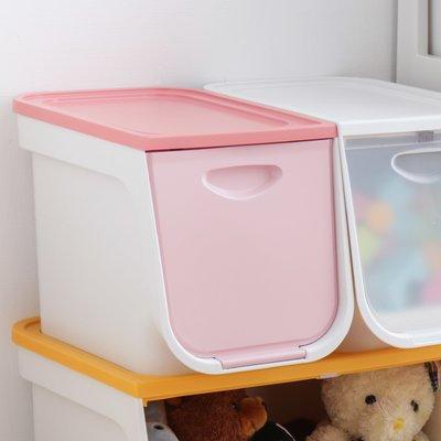 Iris 22 Quart Plastic Flap Box Color: Pink