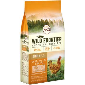 Nutro™ Wild Frontier™ Kitten Open Valley Recipe Cat Food 32 oz. Bag