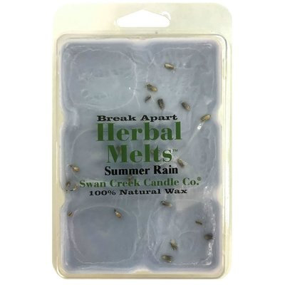 Swan Creek Candle Company Drizzle Melts Scented Melting Wax - Summer Rain