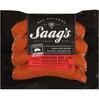 Saag's™ Uncured Hot Link Sausage 12 oz. Pack