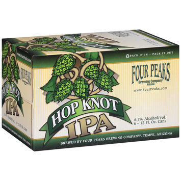 Four Peaks Brewing Company® Hop Knot® IPA 6-12 fl. oz. Cans