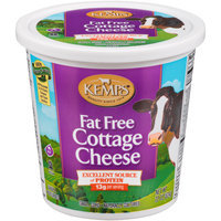 Kemps® Fat Free Cottage Cheese 22 oz. Plastic Tub
