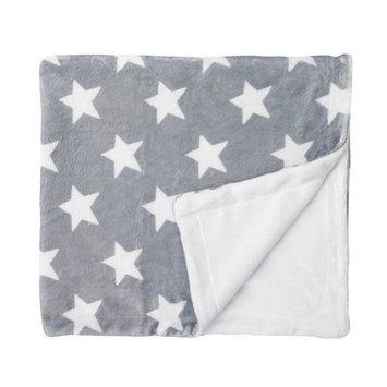 giggle Printed Velboa Blanket, Grey