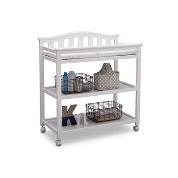 Delta Children Bell Top Changing Table Finish: Bianca