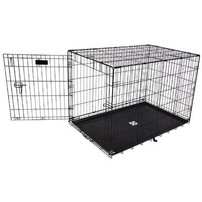 Aspen Pet Single-Door Home Training Pet Crate Size: 30