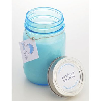 The Pure Candle Eucalyptus and Spearmint Mason Scented Jar Candle