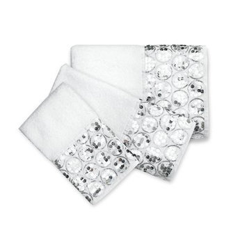 Popular Bath Products Sinatra 3 Piece Towel Set Color: White