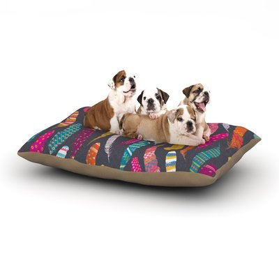 East Urban Home Skye Zambrana 'Flight' Dog Pillow with Fleece Cozy Top Size: Large (50