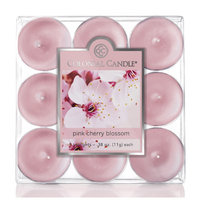 Colonial Candle Pink Cherry Blossom Scent Tea Light