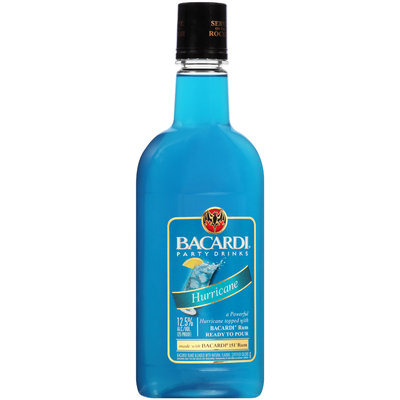 Bacardi® Party Drinks Hurricane Cocktail 750mL