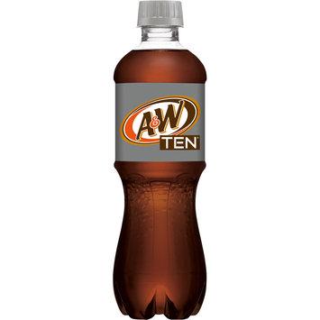 A&W TEN Root Beer, 16 Fl Oz Bottle