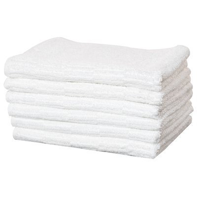 Puffy Towels Turkish Cotton Hand and Hair Towel Color: White