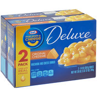 Kraft Deluxe Original Cheddar Macaroni & Cheese Dinner 2-14 oz. Boxes