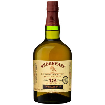 Redbreast Whiskey Ireland 12 Yo Cask Strength 750ml Bottle