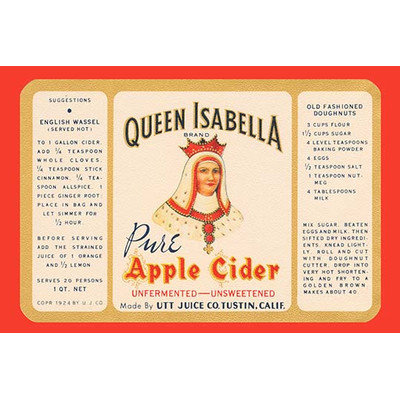 Buyenlarge 'Queen Isabella Pure Apple Cider' Wall Art Size: 66