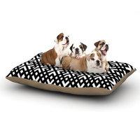 East Urban Home Trebam 'Dijagonala' Geometric Dog Pillow with Fleece Cozy Top Size: Large (50