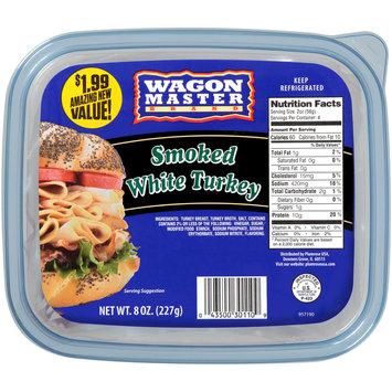 Wagon Master Brand Smoked White Turkey 8 oz. Plastic Tub