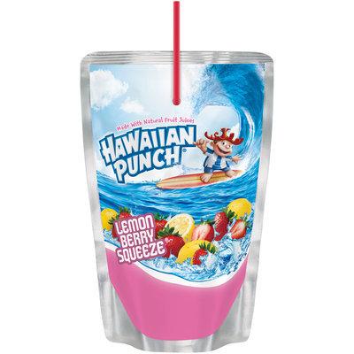 Hawaiian Punch Lemon Berry Squeeze, 6 Fl Oz Pouches, 10 Pack