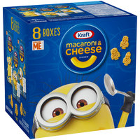 Kraft Despicable Me Shapes Macaroni & Cheese Dinner 8-5.5 oz. Boxes