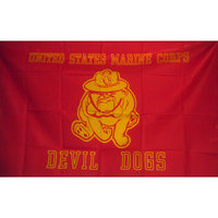 Neoplex Marines Devil Dogs Traditional Flag