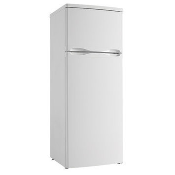 Danby DPF073C1WDB Designer 7.3 Cu. Ft. White Counter Depth Top Freezer Refrigerator - Energy Star