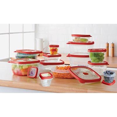 Rebrilliant 14-Container Food Storage Set