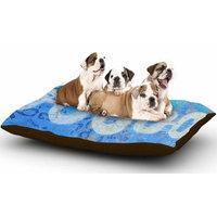 East Urban Home AlyZen Moonshadow 'Arcane 1' Abstract Dog Pillow with Fleece Cozy Top