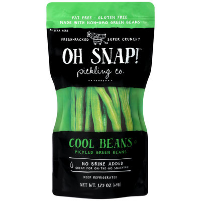 Oh Snap!™ Pickling Co. Cool Beans Pickled Green Beans 1.75 oz. Pouch