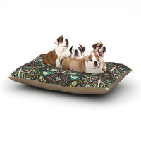 East Urban Home Suzie Tremel 'Butterfly Garden' Dog Pillow with Fleece Cozy Top Size: Small (40
