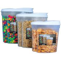 Wayfair Basics 3 Piece Plastic Food Storage Container Set