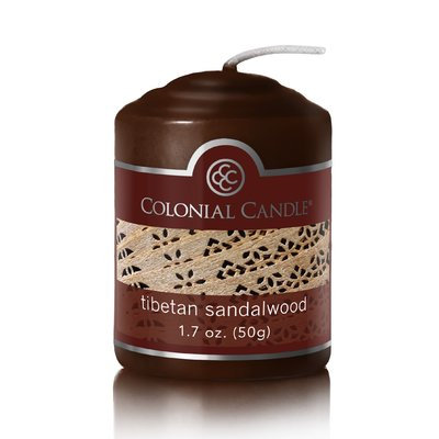 Colonial Candle Tibetan Sandalwood Scent Votive