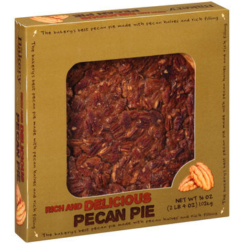 The Bakery™ Rich and Delicious Pecan Pie 36 oz. Box