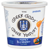 The Greek Gods® Probiotic Honey Blueberry Flavored Greek Style Yogurt 24 oz. Tub