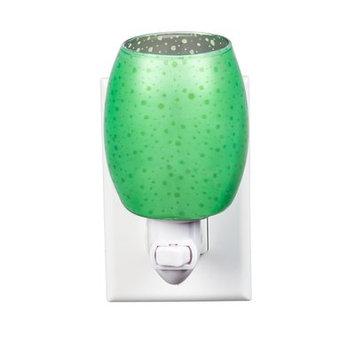 Cypress Stargazer Glass Night Light Color: Green