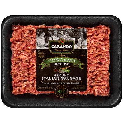 Carando® Classic Italian® Toscano Recipe Ground Italian Sausage 16 oz. Tray