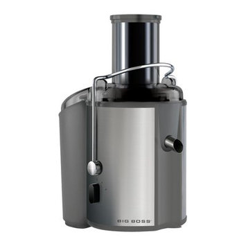 Big Boss Stainless Steel 2-Speed Electric Juicer Color: Silver
