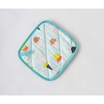 Textile & Twine Ice Cream Print Potholder