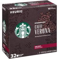 Starbucks® Caffe Verona® Dark Roast Ground Coffee 32-0.42 oz. K-Cup® Pods