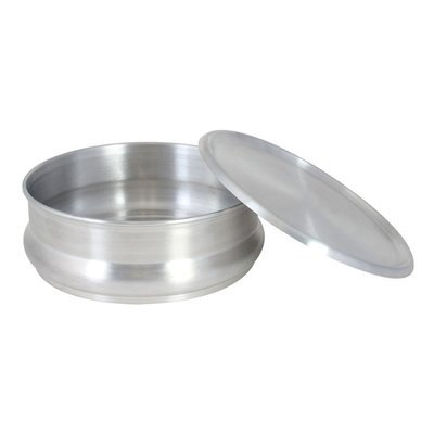 Thunder Group, Inc Round 48 Oz Stackable Aluminum Dough Pan