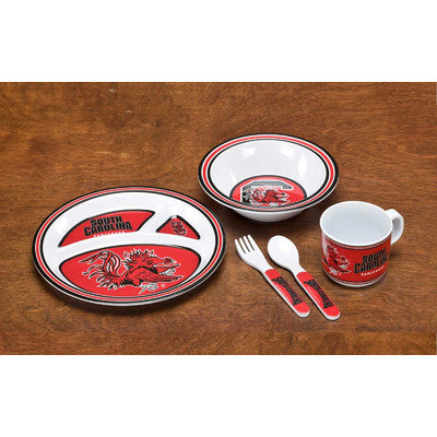 Neoplex NCAA 5 Piece Dish Set NCAA: South Carolina Gamecocks