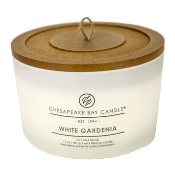 Chesapeake Bay Candles Heritage White Gardenia Jar Candle