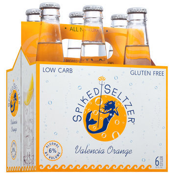 SpikedSeltzer® Valencia Orange Beer 6-12 fl. oz. Bottles