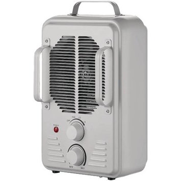 David Shaw Silverware Na Ltd Brentwood 1500 Watt Utility Fan Heater, White