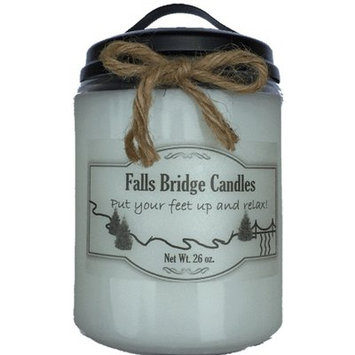 Fallsbridgecandles Peaches and Sweet Berries Jar Candle Size: 6.5