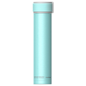 Adnart Skinny Mini 10 Oz. Water Bottle Color: Teal