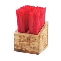 Cal-mil Madera Stir-Stick Straw Holder